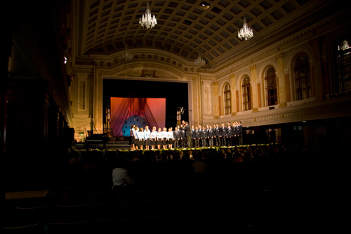 Afternoon performance in Cork City Hall