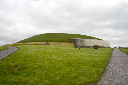 Our first view of Newgrange