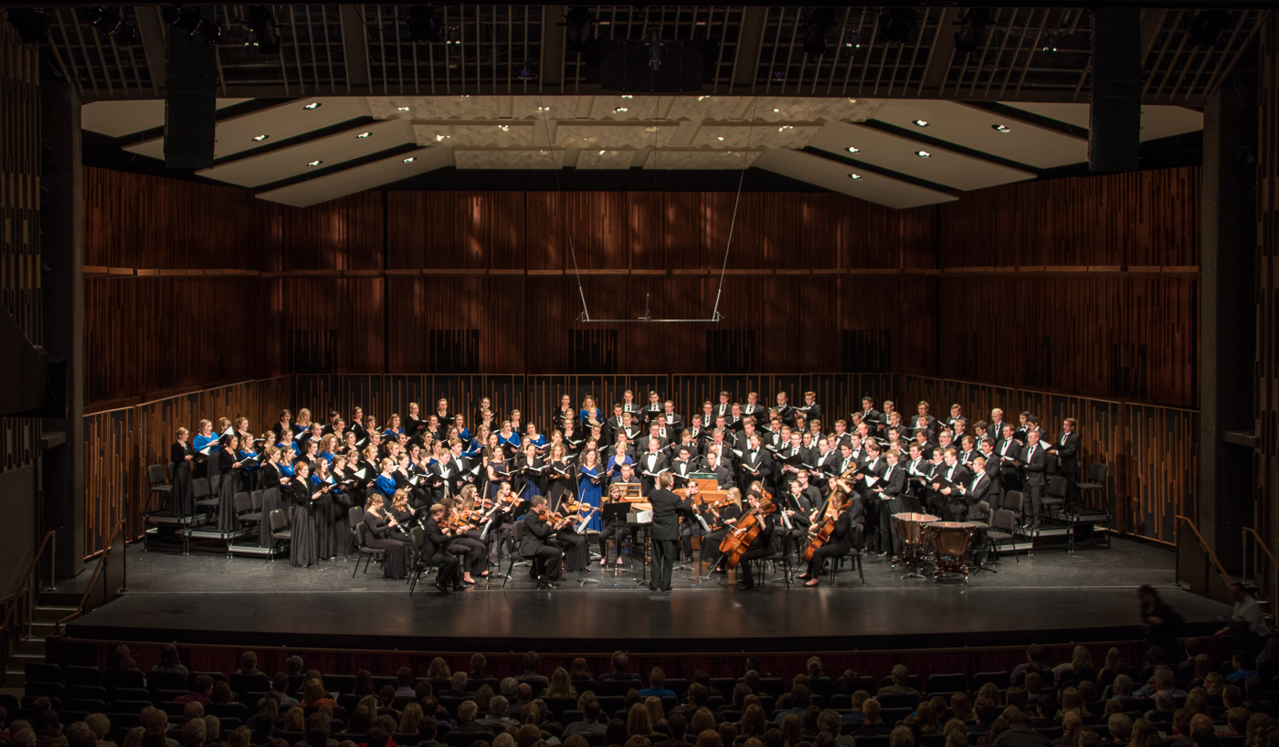 "BYU–Idaho Choirs and Orchestra Perform ""The Redeemer ..."